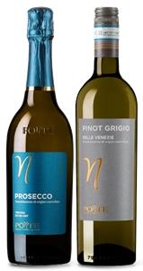 Ponte Prosecco DOC NV and Pinot Grigio m