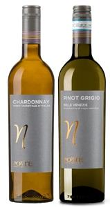 Ponte Pinot Grigio and Ponte Chardonnay
