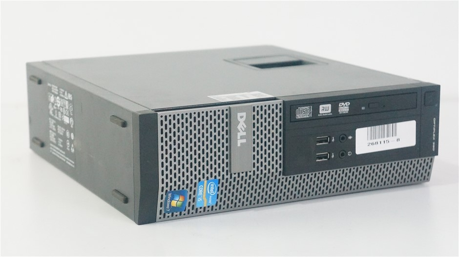 Dell OptiPlex 390 Small Form Factor (SFF) Desktop PC