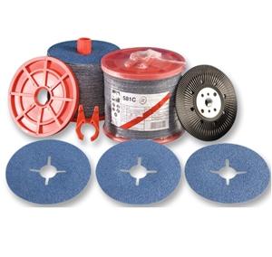 50 x 3M Fibre Sanding Discs 180mm Grit P