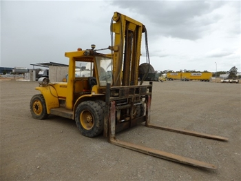 1991 Hyster 4 Wheel Counterbalance Forklift