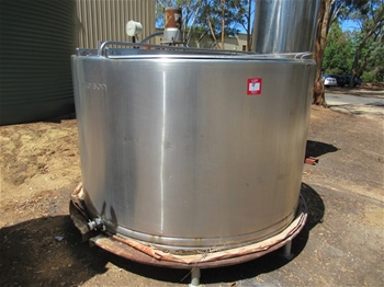 Anderson Stainless Storage Tank