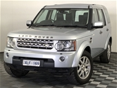Unreserved 2009 Land Rover Discovery 4 2.7 TDV6