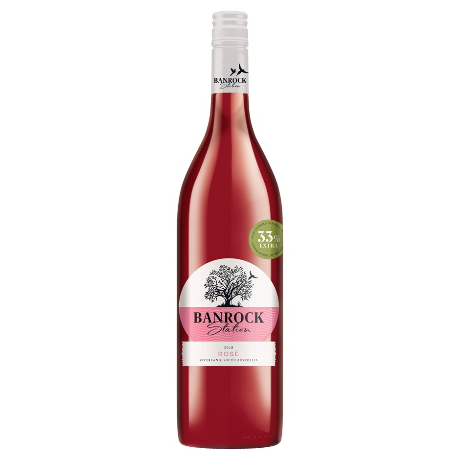 Banrock Station Rose 2019 (6 x 1L), SA.