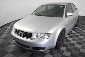 2004 Audi A4 Auto (service history)