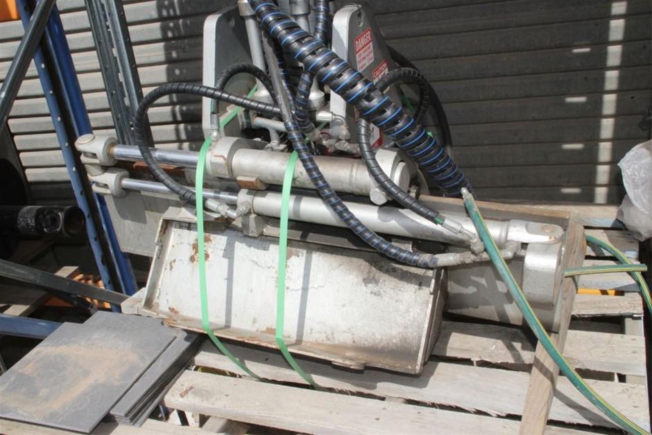 Schibeic RM-D20250 Skid Steer Hydraulic Pavement Polisher