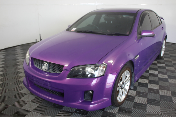 2007 Holden Commodore SV6 Manual (Service History )