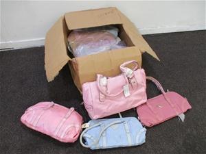 Box of Women's Handbags
