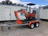 New Wheel Loaders, Excavator, Tipper Truck & VMS Trailers