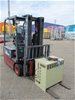 2007 Niehiyu FBT15PN 70BC 430MSF 3 Wheel Counterbalance Forklift