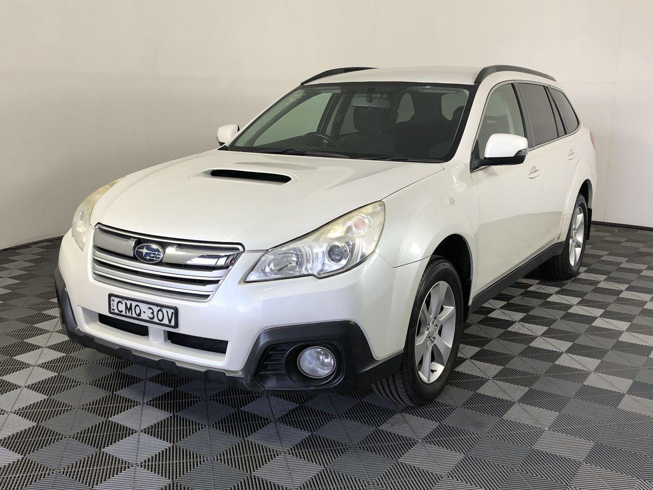 2013 Subaru Outback 2.0D B5A Turbo Diesel CVT Wagon