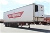 2001 Southern Cross Triaxle Triaxle Refrigerated Trailer