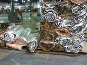 Quantity of Insulation Blanket