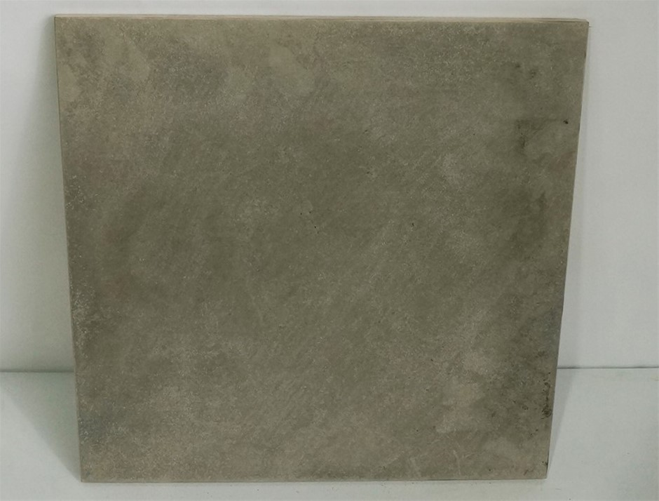 Grey ceramic tiles 1 x Pallet of approximately 45 x boxes containing 9
