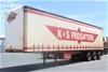 2005 Freighter 45' Triaxle Tautliner Trailer
