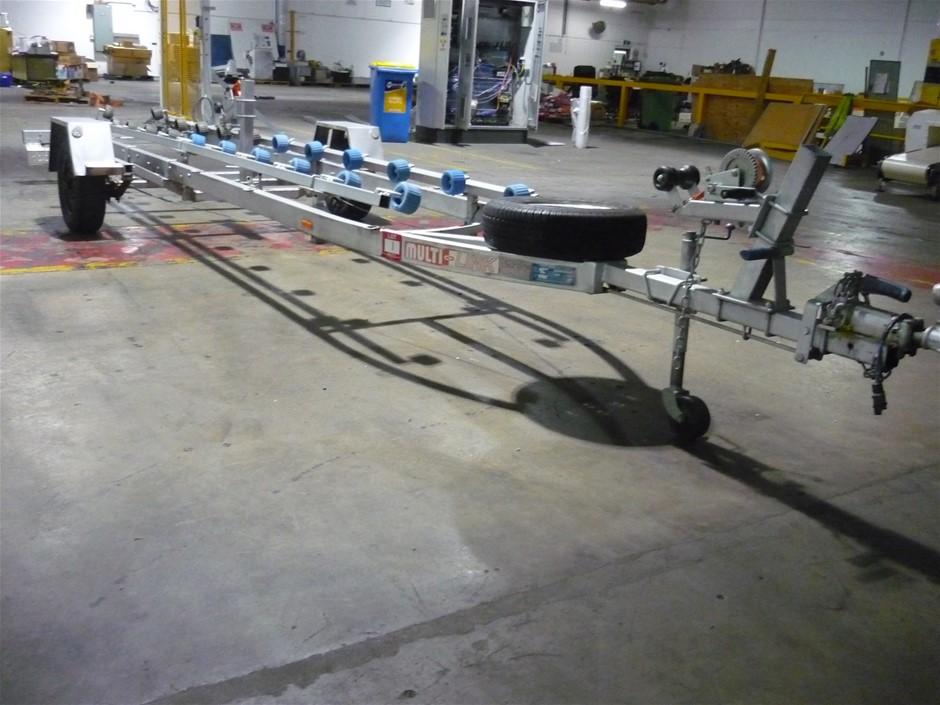 Multi-Link Double Jet Ski Trailer