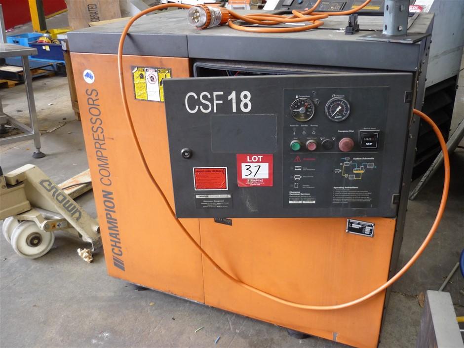 1997 Champion CSF18 Champion Compressor