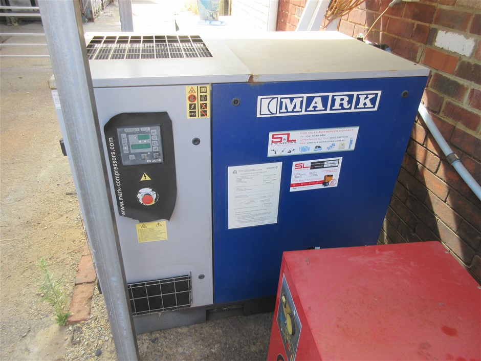 Marx MSC 22kw Air Compressor with Dryer and Receiver