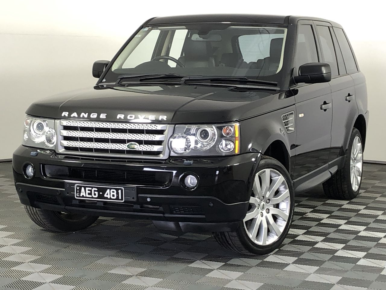 2008 Land Rover Range Rover Sport TDV8 Turbo Diesel Automatic Wagon