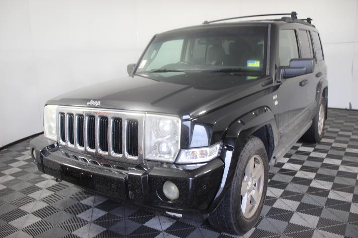2007 Jeep Commander Turbo Diesel Automatic 7 Seats Wagon