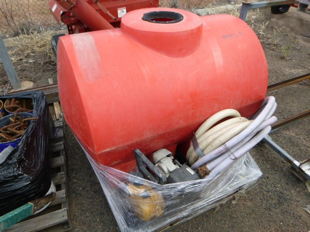 Water Pump and Tank with Hoses