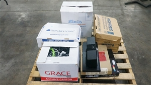 Pallet of Server and Assorted Hardware