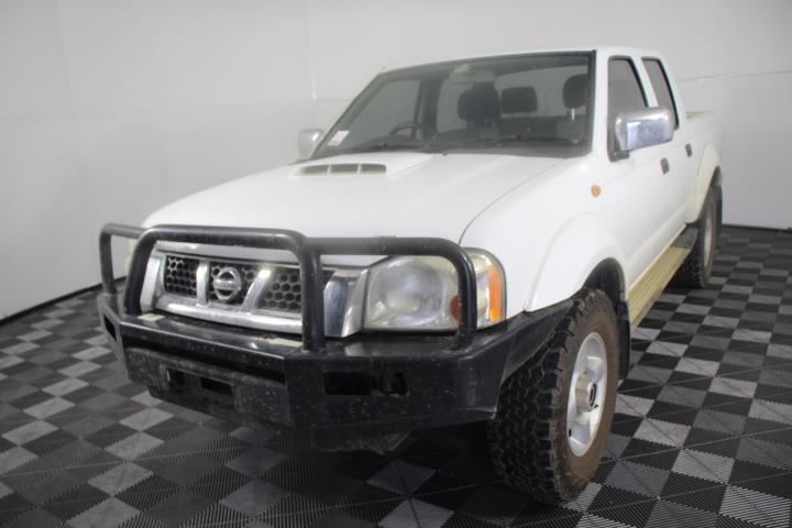 2011 MY12 Nissan Navara ST-R (4x4) T/Diesel ( Service History )