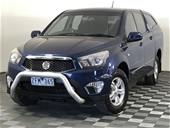 Unreserved 2012 Ssangyong Actyon Sports 4X2 SX