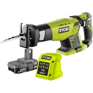 RYOBI 18V Reciprocating Saw Kit c/w Batt