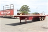 1996 Freighter 45' Triaxle Flat Top Trailer