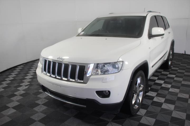 2011 MY12 Jeep Grand Cherokee Limited (4x4) WK Auto 116,937 km's