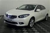 Unreserved 2013 Renault Fluence Privilege CVT Sedan