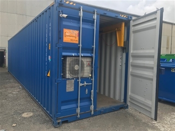 40' & 20' Workshop Containers