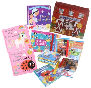 40 x Assorted Kid`s Storybooks Comprisin