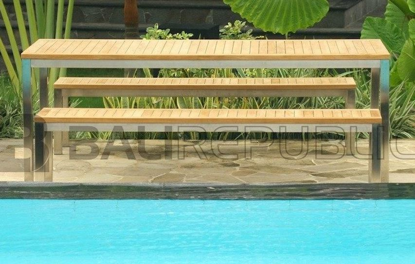 1 x Luxurious RENON 6 Seat Outdoor Dining Setting by Bali Republic