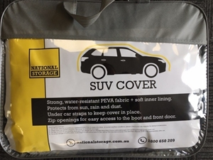 SUV Vehicle Cover - Pick up from Garbutt