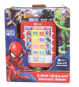 MARVEL SPIDERMAN 8-Book Library & Electr