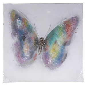 4 x Butterfly Wall Canvasses 1000mm x 10