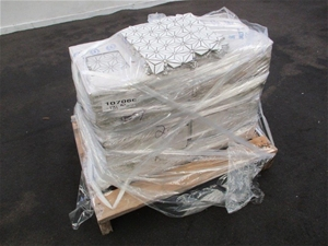Pallet of Mosaic Feature Tile