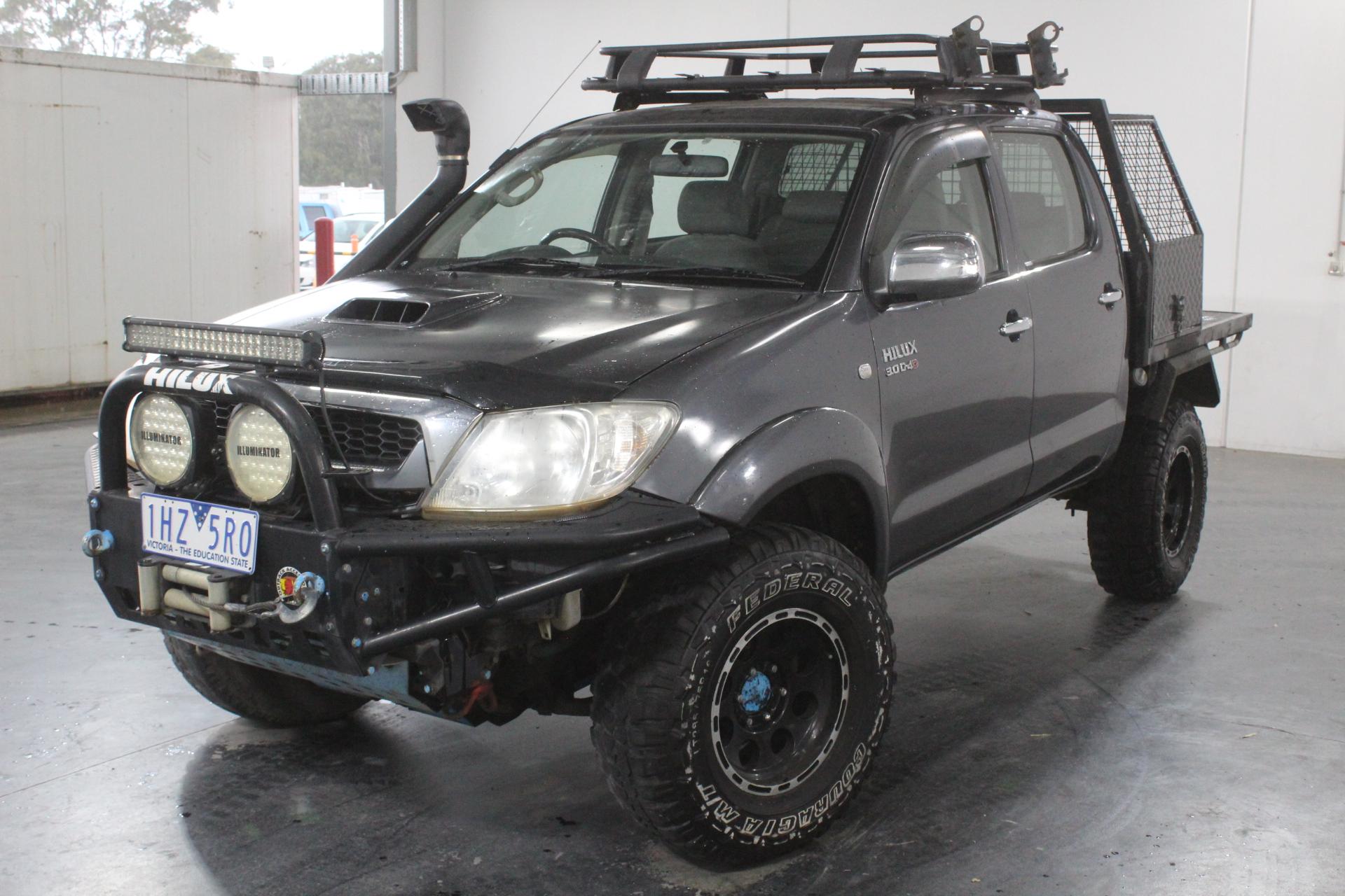2008 Toyota Hilux SR (4x4) Turbo Diesel Manual (WOVR-Inspected)