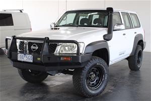 2012 Nissan Patrol DX (4x4) GU Turbo Die