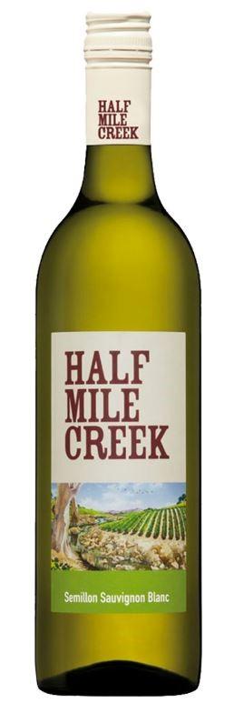 Half Mile Creek Sauvignon Blanc 2018 (12 x 750mL) SEA