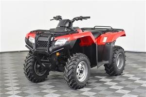 2016 Honda TRX 420 FM Quad, 28372 km ind