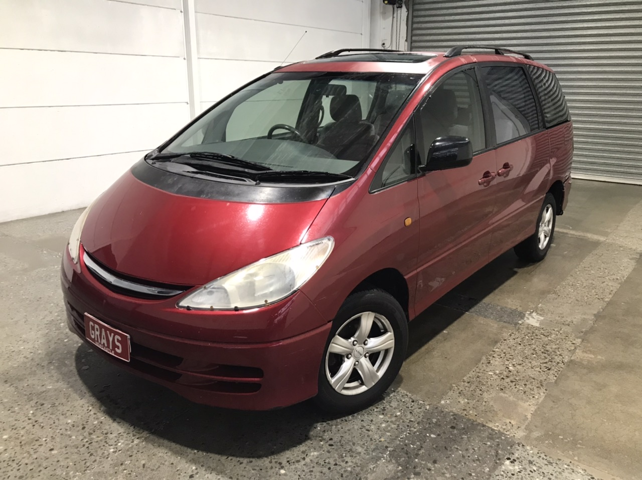 2000 Toyota Tarago GLX ACR30R Automatic 8 Seats People Mover (WOVR)