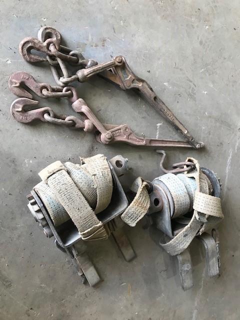 2 x Load Binders & 2 x Chain Dogs