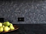 Penny Round Crystal Glaze Grey 19mm x 5.5mm Mosaic Tiles, 13 Boxes, 24.05m²