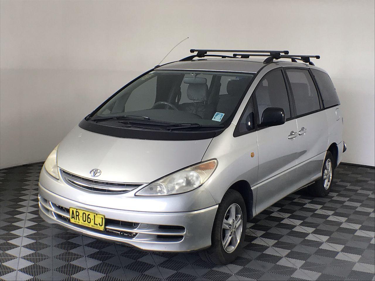 2001 Toyota Tarago GLX ACR30R Automatic 7 Seats People Mover