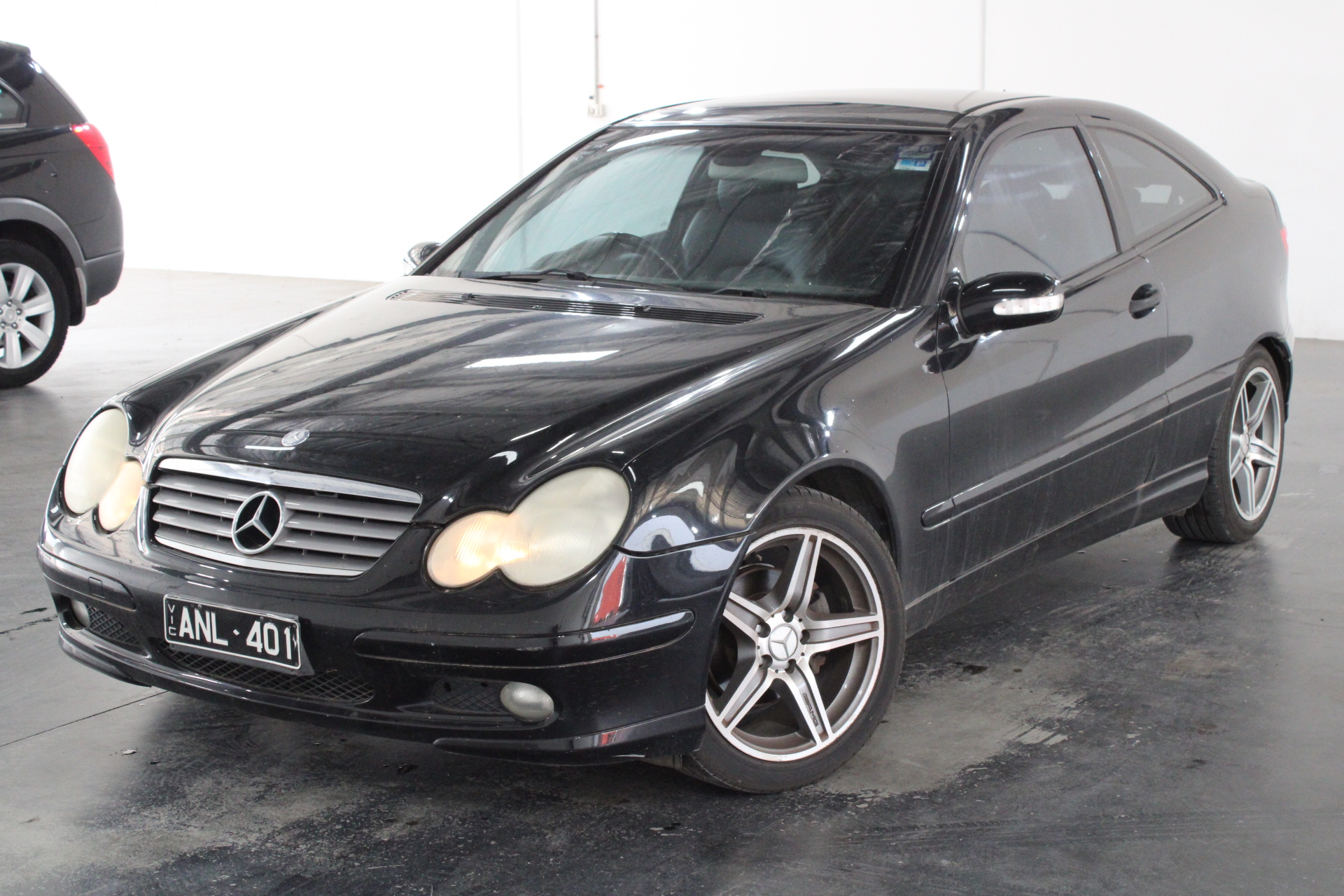 2001 Mercedes Benz C200 Kompressor CL203 Automatic Coupe