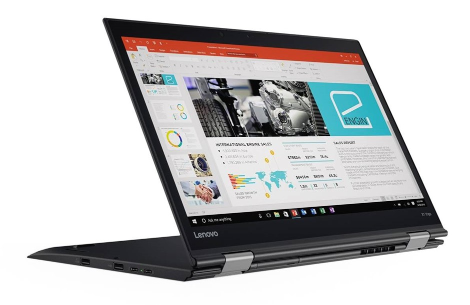 Lenovo ThinkPad X1 Yoga 2nd Gen 14-inch Notebook, Black