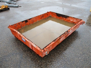 East West Concrete Collection Tray